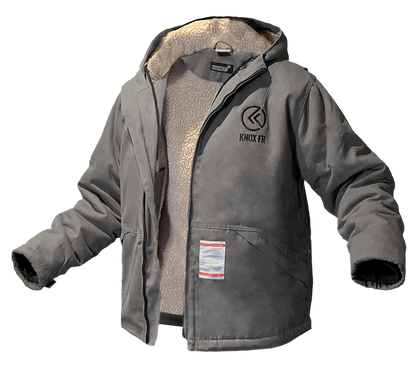 KNOX SHERPA LINED FIRE RETARDANT JACKET (GREY)