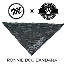 Load image into Gallery viewer, Midwest x K9 Kreative Pet Bandanas - Night OG Stripe Series