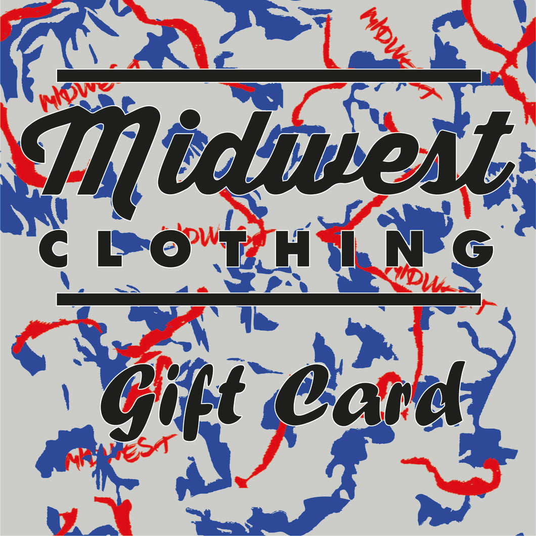 Midwest Clothing Gift Card