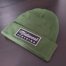 Load image into Gallery viewer, Box Logo Cuffed Beanie(Black/Grey Logo)