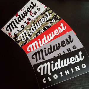 Midwest Box Logo Sticker Pack