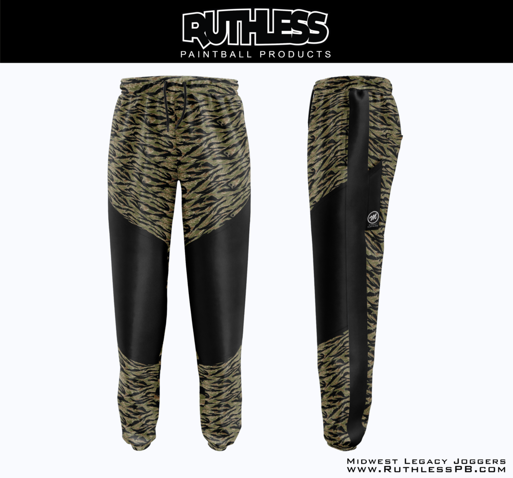 Midwest X Ruthless Legacy Joggers - Classic Tiger stripe