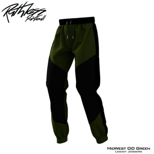 Midwest X Ruthless Legacy Joggers - OD Green