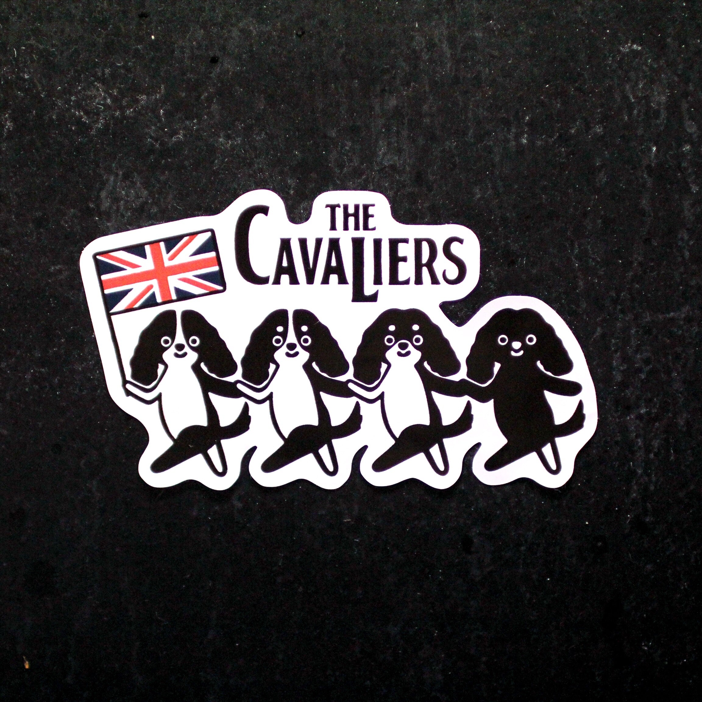 THE CAVALIERSステッカー