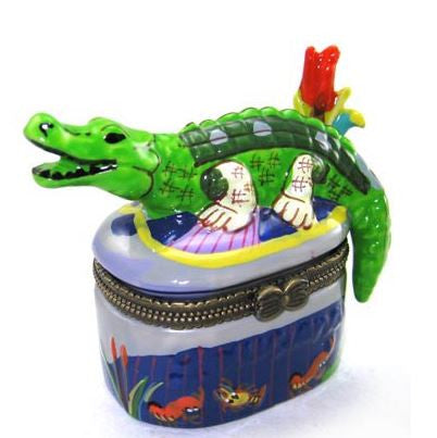Alligator Ceramic Box