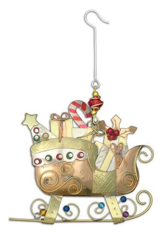 Christmas Sleigh Indoor Hanging Decoration