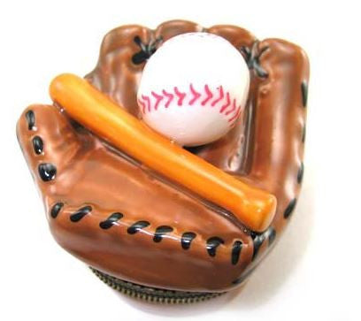 Baseball Ceramic Box