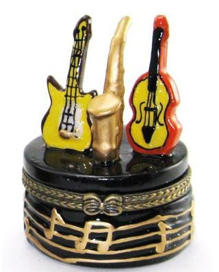 Musical Instruments Ceramic Box