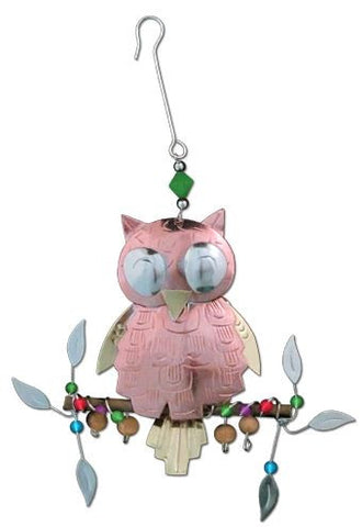 Pine Owl Indoor Hanging Decoration