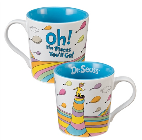 Dr. Seuss Oh the Places You'll Go 12 oz. Ceramic Mug