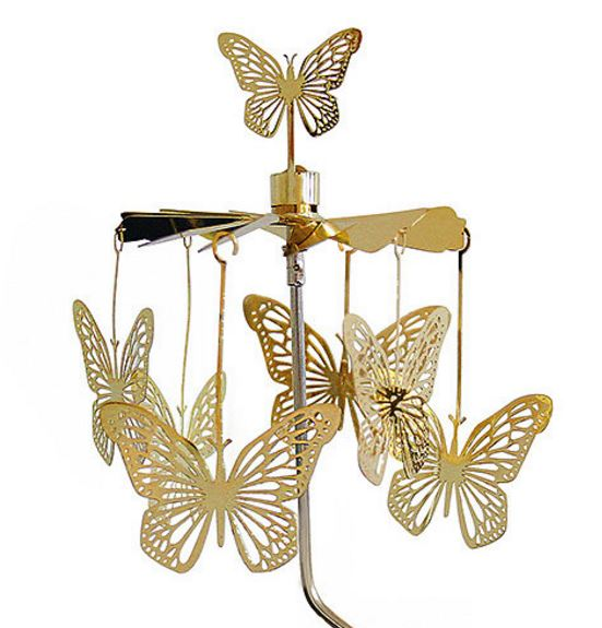 Butterfly Rotary Candle Holder