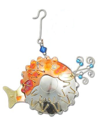 Puffer Fish Indoor Hanging Decoration