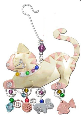 Playful Kitty Indoor Hanging Decoration