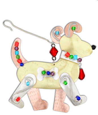 Baxter the Dog Hanging Decoration