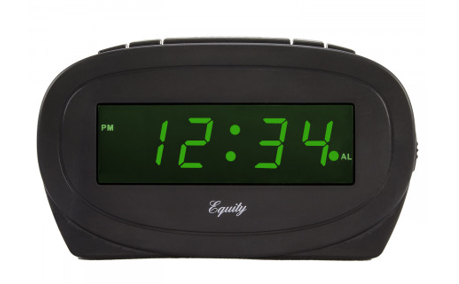 Green LED Digital Alarm Clock