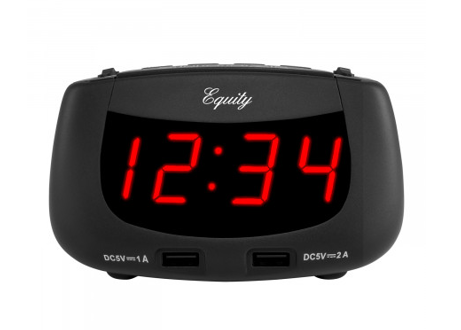 Red LED Digital Alarm Clock