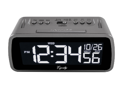 Color Changing LCD Digital Alarm Clock