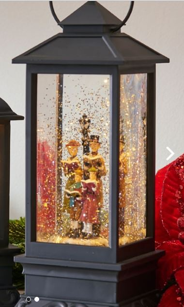 Caroler Lighted Water Lantern
