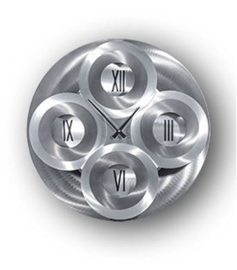 Moving Dial Wall Clock