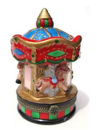 Carousel Ceramic Box