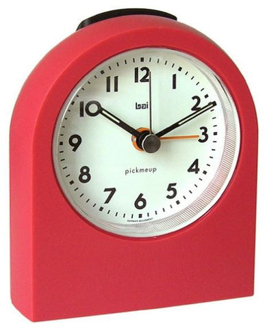 Red Pick Me Up Alarm Clock