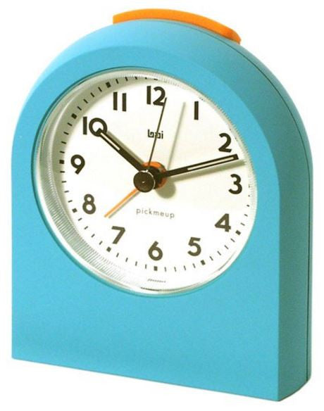 Pick Me Up Teal Alarm Clock
