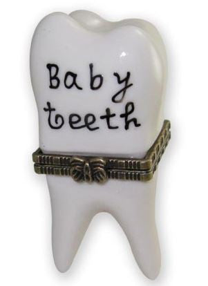 Baby Teeth Ceramic Box