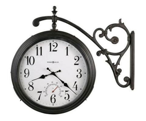 Luis Double Sided Indoor / Outdoor Wall Clock