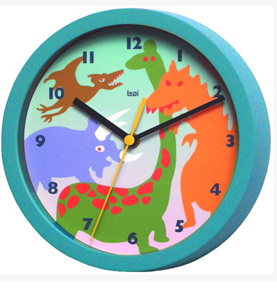Dinosaur Children's Wall Clock