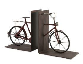 Renee Bicycle Bookends