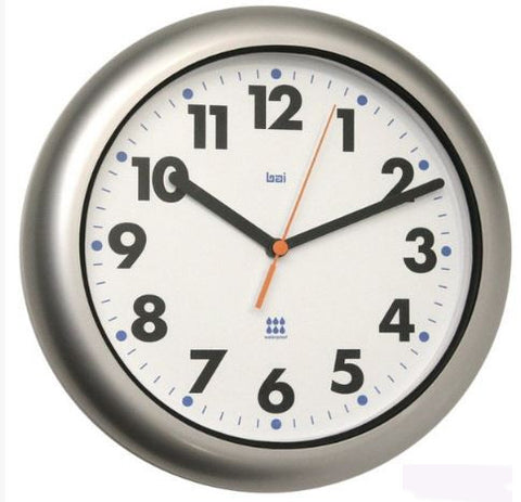 "10.50"" Aqua-master Indoor / Outdoor Wall Clock"