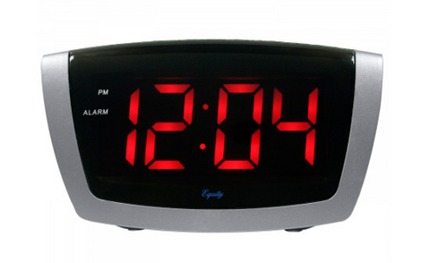 Jumbo Red LED Digital Alarm Clock