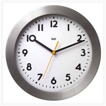 "11"" Contempo Landmark Wall Clock"