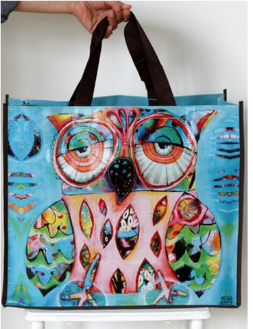 Owl Shopper Bag