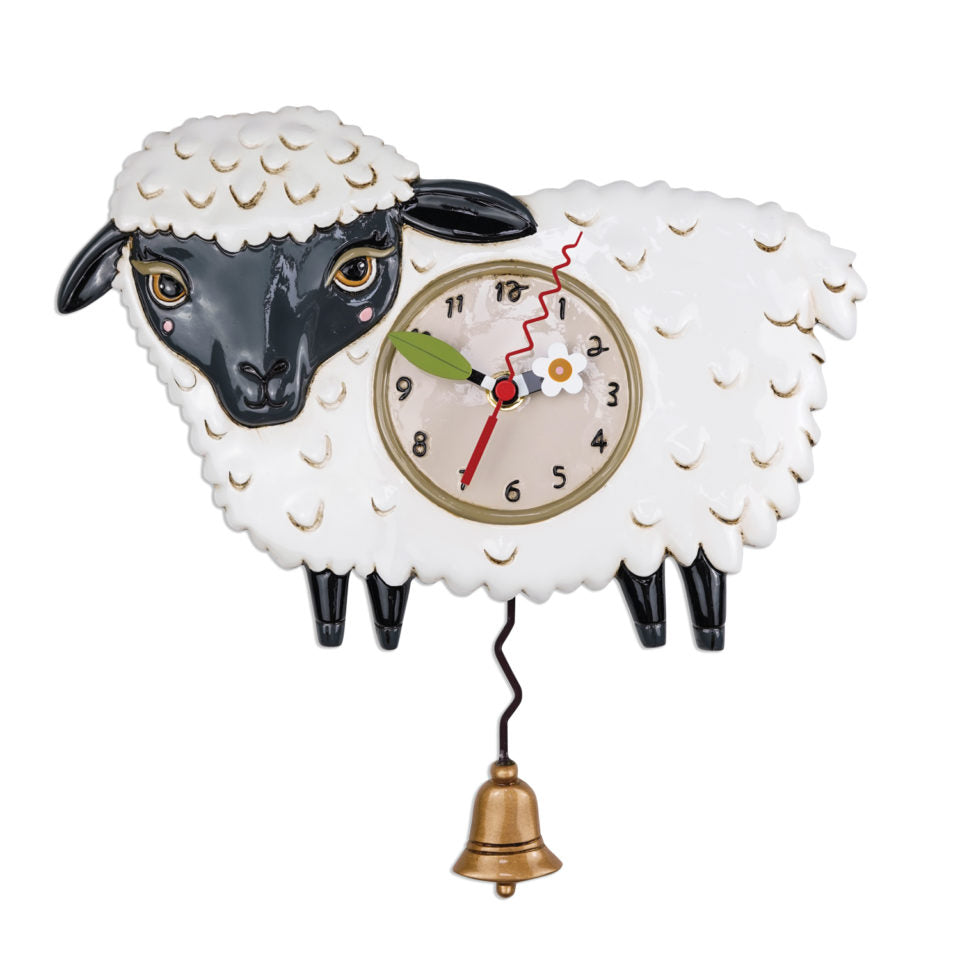 Black Sheep Pendulum Wall Clock