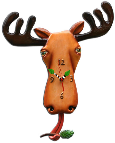 Moose Lee Pendulum Wall Clock
