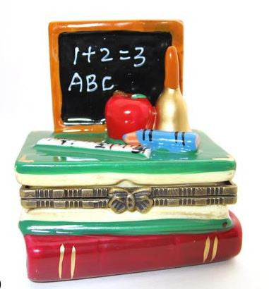Book & Teacher Ceramic Box