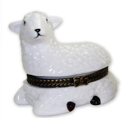 Lamb Ceramic Box