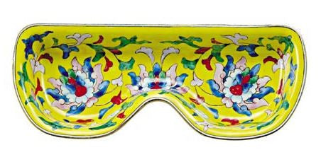 Yellow Design Eyeglass Holder