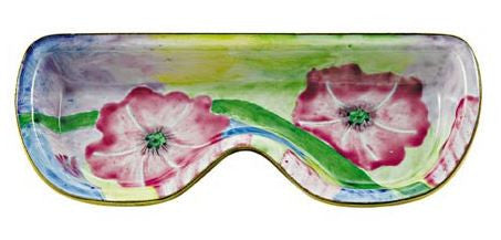 Pink Morning Glory Eyeglass Holder