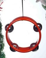 Red Tambourine Hanging Decoration