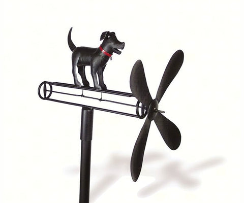 Black Lab Whirligig