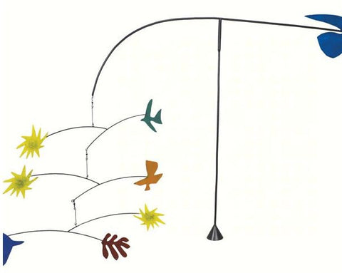 Abstract Birds Balancer Garden Stake