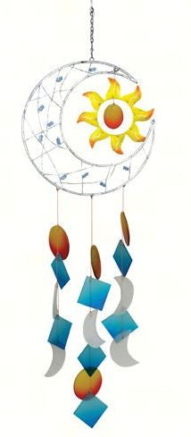 Celestial Moon Wind Chime