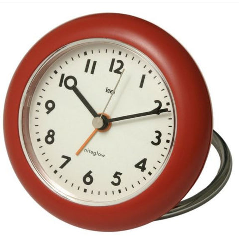 Rondo Red Travel Alarm Clock