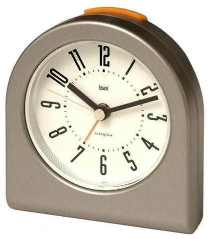 Pick Me Up Cyber Gunmetal Alarm Clock