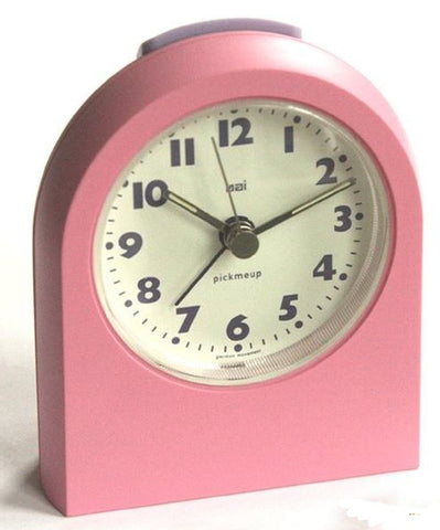 Pick Me Up Pink Alarm Clock