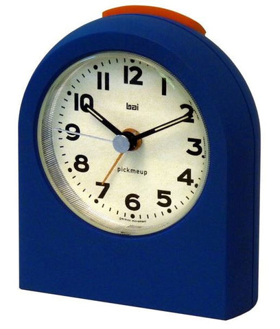 Pick Me Up True Blue Alarm Clock