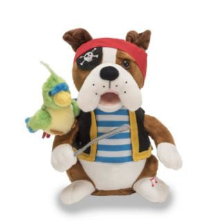 Pirate Pete the Singing Animated Dog Pirate