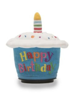 Happy Birthday Cupcake the Singing Animated Spinner